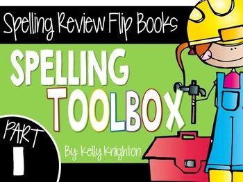 Spelling Review Flip Books: Part 1 {First Grade}