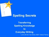 Spelling Secrets: Transferring Spelling Knowledge to Every
