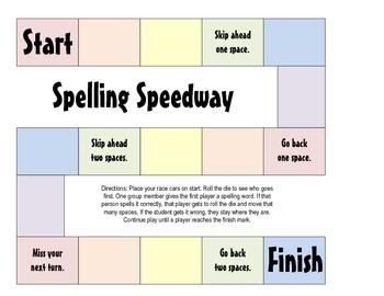 Spelling Speedway