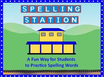 Spelling Station Flipchart