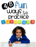 Spelling & Word Work Activities {48 Fun Activities for ANY