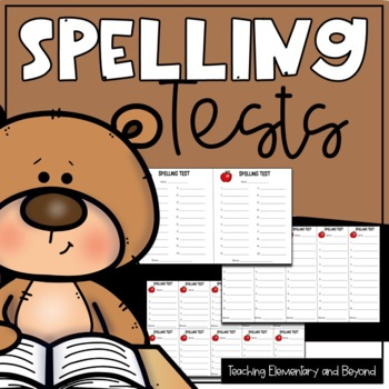 Spelling Test & Dictation {5, 10 & 20 Words}