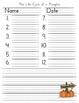 Spelling Test Forms {clip art} Reading Street Grade 2