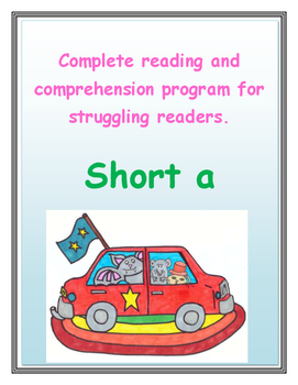 Reading Comprehension   Short a sound