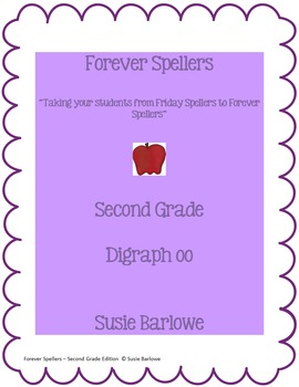 Spelling - The Two Sounds of Digraph oo - 2nd Grade