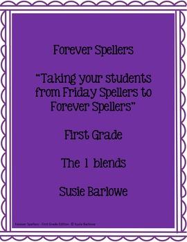 Spelling - The l Blends - 1st Grade