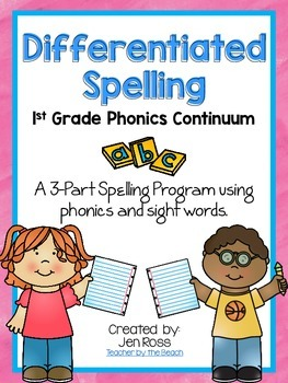 Differentiated Spelling {Grade 1}