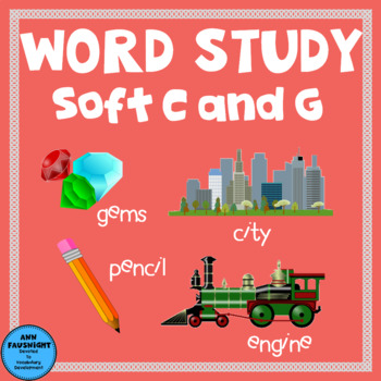 Spelling Unit  Soft C and G One week of independent work i