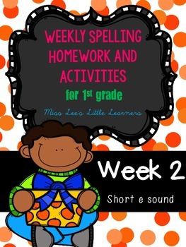 Spelling Unit: Week 2