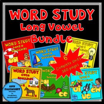 Spelling Units Long Vowel Bundle