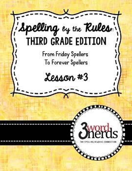 Spelling - VCe/Magic E Syllable - Third Grade