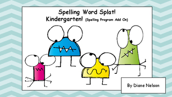 Spelling Word Splat! Kindergarten (Full Year)