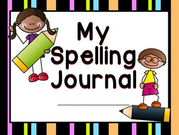 Spelling Words Journal - Practice Spelling Worksheets for