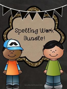 Spelling Work Bundle
