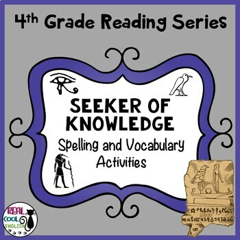 Spelling and Vocab Activities: Seeker of Knowledge