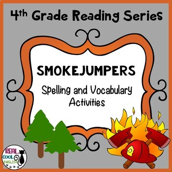Spelling and Vocab Activities: Smoke Jumpers