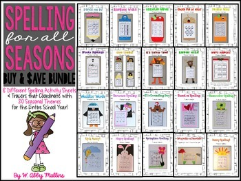 Spelling for All Seasons: BUNDLE
