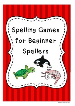 Spelling games for beginner spellers