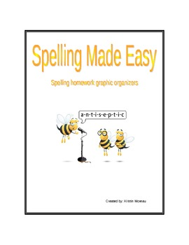 Spelling made easy- Spelling activities for any unit