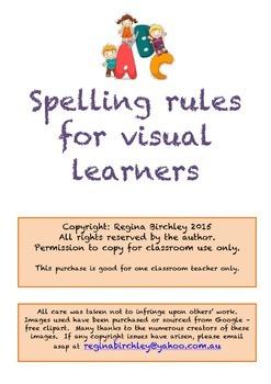 Spelling rule for I