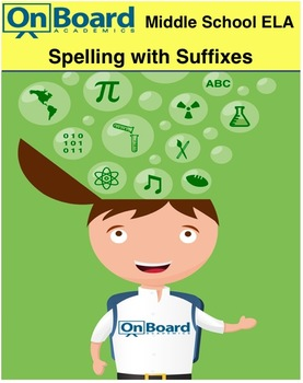 ELA Spelling with Suffixes-Interactive Lesson