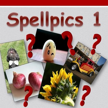 Access English: Spellpics 1 - Spelling Game