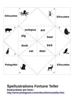 Spellustrations Fortune teller
