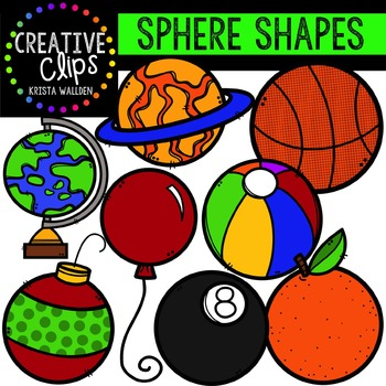 Spheres {Creative Clips Digital Clipart}