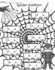Math Center - Spider Addition - addition sums to 10