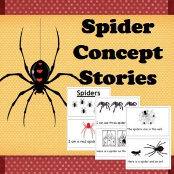 Comprehension book and activities- Spiders