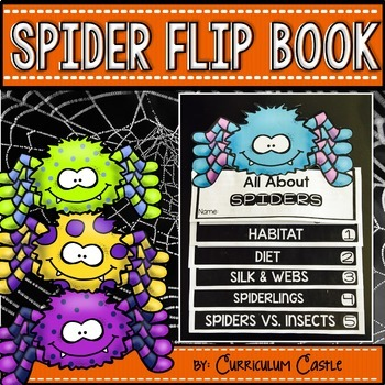 Spiders Flip Book {Reading Comprehension & Craft}