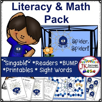 Spider Movement Song! Spider, Spider! Shared Reading & MORE!