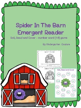 Spider In The Barn Emergent Reader and Roll and Cover Numb