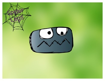 Spider Legs Addition/Subtraction Game