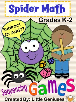 Spider Math Games for Grades 1-3