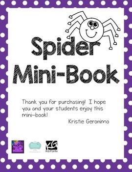 Spider Mini-Book