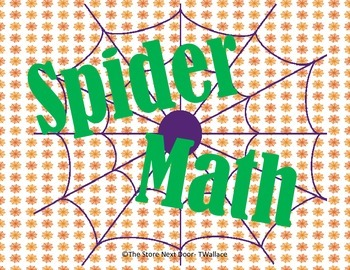 Spider Sets & Numbers