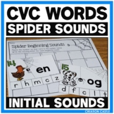 Spider Sounds - Beginning Sounds