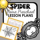 Spider Theme Home Preschool Lesson Plans