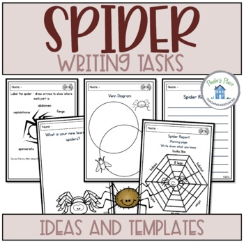 Spider - Writing