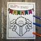 Coloring Pages for Bats and Spiders