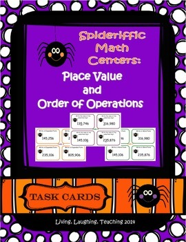 Halloween Math Centers: Place Value and Order of Operations