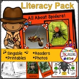 Spiders! All About Spiders Non-fiction Unit {CCSS}
