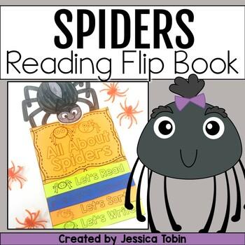 Spiders Flip Book