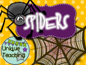 Spiders - Informational Text