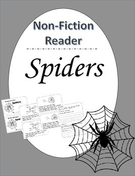 Spiders Nonfiction CLOSE Reading Book