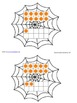 Spiders tens frames Match 1-10 or 11-20 or 1-20
