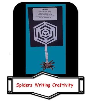 Spiders Writing Craftivity