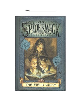 Spiderwick Chronicles 1 Reading Guide Question Packet