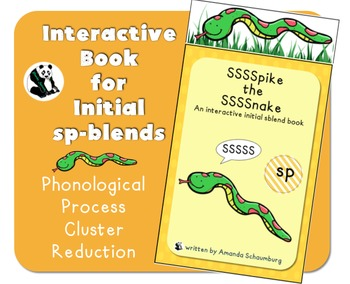 Spike the Snake: Interactive Book for Phonological Process